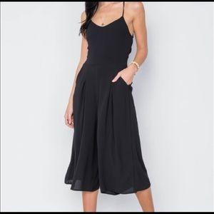 Pants - Black Jumpsuit